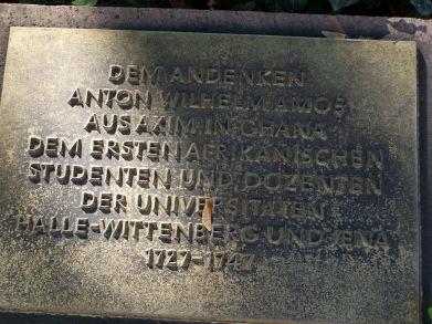 Halle Universitätsring Gedenktafel Anton Wilhelm Amo.JPG