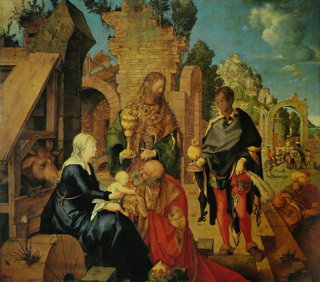 Albrecht_Dürer_-_L'Adoration_des_mages