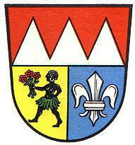 The Würzburg coat of arms (1956-1974)