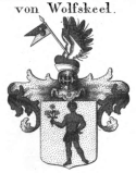 Wolfskeel crest 1821